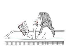 juzgo a los hombres por los libros que descansan en su mesilla. lo confieso.