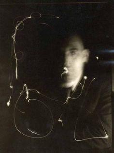 Man ray space writing