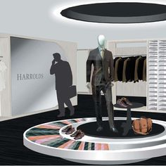 Harrolds, Designer menswear department store    Harrolds Modern Luxury and Classic Luxury boutique fashion lines were presented over two retail levels, set behind a dynamic operable louvered metal shopfront facade.