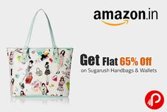 Get Flat 65% Off on Sugarush Handbags & Wallets - Amazon