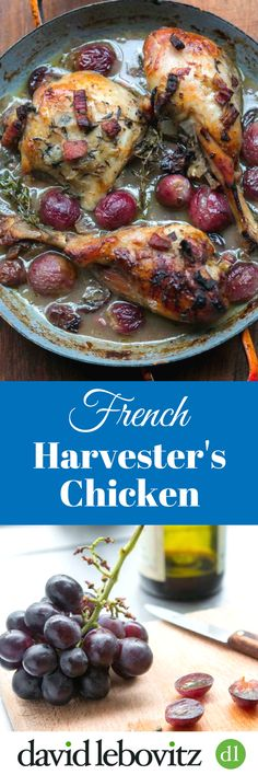 Delicious, easy braised French-inspired chicken dish!
