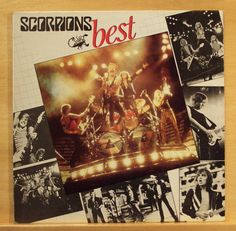 SCORPIONS Best - Vinyl LP Rock you like a Hurricane The Zoo Holiday Coming home