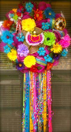 Fiesta wreath...