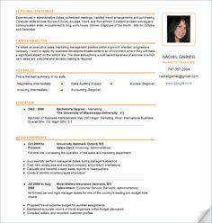 8 Best Resume Images Best Resume Cv Template Resume Examples