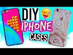 DIY Phone cases: Tumblr inspired - YouTube