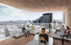 Diller Scofidio + Renfro Unveils New Columbia University Medical Building,Panorama Room - Courtesy of CUMC