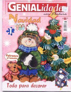 genialidades con pintura 31 navidad - Geraldinapintura - Álbuns da web do Picasa...  Free book!!