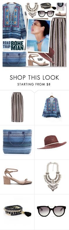 """Summer Road Trip - Yoins 6"" by anyasdesigns ❤ liked on Polyvore featuring Billabong, Italia Independent and Tiffany & Co."