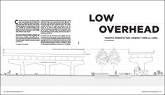 """Toronto's Underpass Park, seemingly there all along. Featured in """"Low Overhead"""" by Jane Margolies in the February 2017 issue of Landscape Architecture Magazine."""