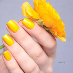 Brigthen up your day with essie's 1000th shade -- a bright yellow that will have you 'aim to misbehave'