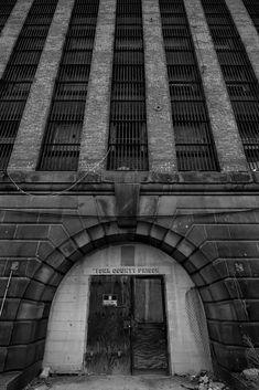 Main Entrance. Abandoned York County Prison, York, PA