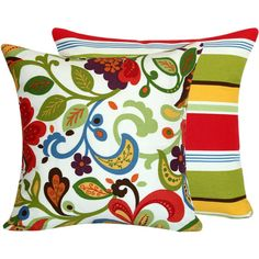 colorful pillow from Chloe and Olive on Etsy