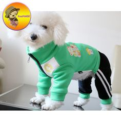 Dog Clothing New Arrivals warm winter dogs Bichon clothing Pet Overalls Clothes Dog Jumpsuit Pants Apparel Cat Bib Suspenders panty trousers - Boy Dog Clothes, Small Dog Clothes, Dog Clothing, Dog Pants, Dog Jacket, Baby Dogs, Pet Dogs, Pets, Dog Pajamas