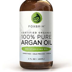 BEST ORGANIC Argan Oil for Hair, Face, Skin and Nails - 100% Pure Certified Organic Argan Oil - GUARANTEED to Provide Beautifully Healthy, Nutrient-Rich Moisture... Known as Liquid Gold for the HUGE list of Uses & Benefits - Anti Aging, Vitamin E - Cold Pressed, Unrefined, Virgin, Eco Cert & USDA Certified Organic - Use Alone or Infuse Moisturizers, Lotions, Serums and More! Purchase backed by Amazing Guarantee 2oz - http://essential-organic.com/best-organic-argan-oil
