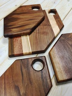 Hex Cutting & Serving Board