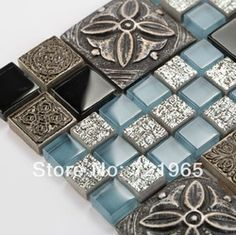 Online Shop Glass mosaic kitchen backsplash tile 3D resin mosaic bathroom wall tiles RNMT089 crystal glass mosaics tiles|Aliexpress Mobile