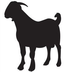 goat stencil font