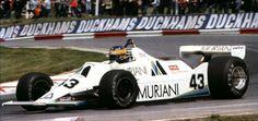 Desiré Wilson (Brands Hatch Racing) WilliamsFW07 - Ford
