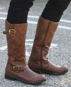 Vegan friendly riding style boots!