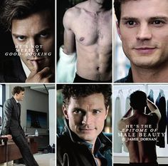 FSOG www.pinterest.com/lilyslibrary Jamie Dornan as Christian Grey