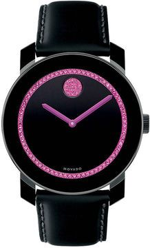 MOVADO BOLD Large TR90 & Swarovski Crystal-Encrusted Watch on shopstyle.com. Support Breast Cancer Awareness!!