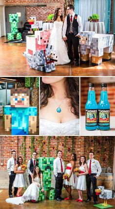 10+ Of The Most Epic Geeky Weddings Ever #offbeatwedding #gamer
