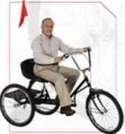 """Trailmate Regal Hauler 24"""" Industrial Adult Tricycle, $594.00"""