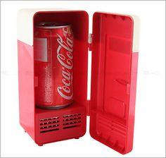 20 cheap gift ideas for the cube dweller // USB Mini Cooling Fridge!