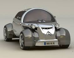 This Citroen concept car has just entered from future for all Citroen lovers. This concept is designed by David Portela to present a classic model. Citroen Ds, Psa Peugeot Citroen, Concept Cars, Citroen Concept, Ford Thunderbird, Traction Avant, Flying Car, Weird Cars, Futuristic Cars
