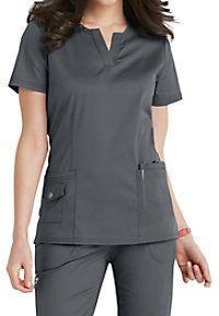 Beyond Scrubs Juna Split V-neck Scrub Tops Scrubs Outfit, Scrubs Uniform, Dental Uniforms, Doctor Scrubs, Stylish Scrubs, Womens Scrubs, Medical Scrubs, Nursing Clothes, Scrub Tops