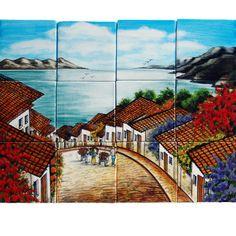 Mexican Style Mural - Calle De Lago