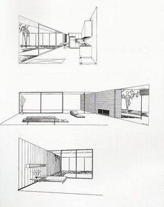 Craig Ellwood - Case Study n° 16 (Salzman House), Los angeles, CA, USA, 1951-1953.