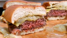 Making Butter Burgers at America's Test Kitchen! BEGINS @ 2:30  intoxicated carnality