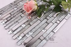 metal Tile Ideas | Tile,Glass mosaic tile,Metal tile,Wall tile,living room wall tile ...