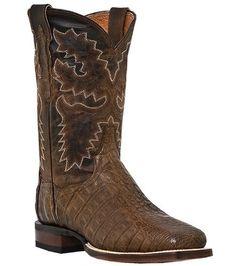"""Men's Dan Post DENVER 11"""" Square Toe Flank Caiman Boots Dan Post. $304.99"""