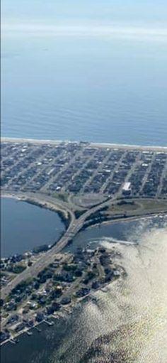 Seaside Heights, Airplane View, Beach, Water, Outdoor, Gripe Water, Outdoors, Seaside, Outdoor Games