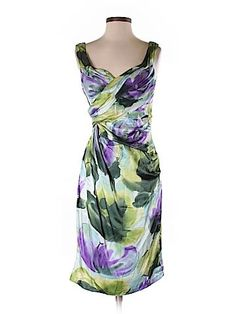 Check it out -- Suzi Chin Silk Dress for $35.99 on thredUP! Love it? Use this link for $10 off. New customers only.