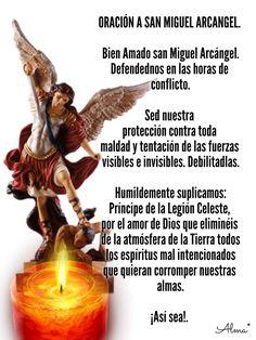 Prayer For Peace, God Prayer, Power Of Prayer, Prayer Quotes, Catholic Prayers In Spanish, Catholic Catechism, Archangel Prayers, Spiritual Warfare Prayers, Miracle Prayer