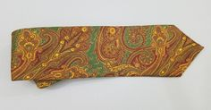 Brooks Brothers Ancient Madder Paisley Designer Silk Tie | Clothing, Shoes & Accessories, Men's Accessories, Ties | eBay!