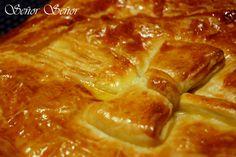 Empanada de jamón y queso azul
