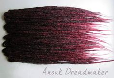 natural style crocheted synthetic dread by AnoukDreadmaker on Etsy, $169.96