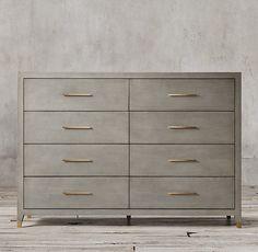 Graydon Shagreen 8-drawer Dresser