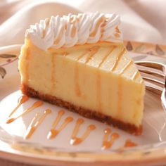Mascarpone Cheesecake Recipe from Taste of Home