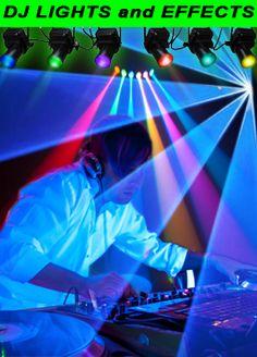 DJ Lights!  Laser Lights!  Blacklights!