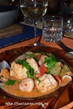 #Zarzuela de mariscos Seafood Recipes, Chicken, Meat, Seafood, Ocean Perch Recipes, Cubs