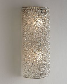 """Four Hands """"Scattered Crystal"""" Sconce - Horchow"""