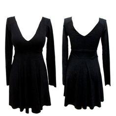 Vestido Acinturado All Black