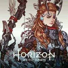Horizon Zero Dawn, Woo Kim on ArtStation V Games, Best Games, Horizon Zero Dawn Aloy, Character Art, Character Design, Game Concept Art, Video Game Art, Manga, Videogames