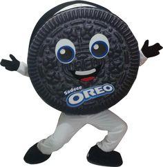 Oreo Mascot Mascot Costumes, Stone Pendants, Stone Necklace, Oreo, Minions, Cocoa, Skateboard, Cookie, Rock Necklace