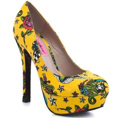 Betsey Johnson-imagine these babies peeking out from under a wedding dress!